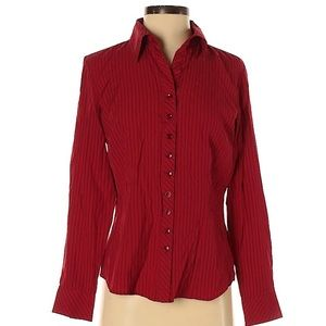 ❗️Dress Barn Red Button Down MSRP $58!